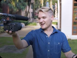 on-camera presence
